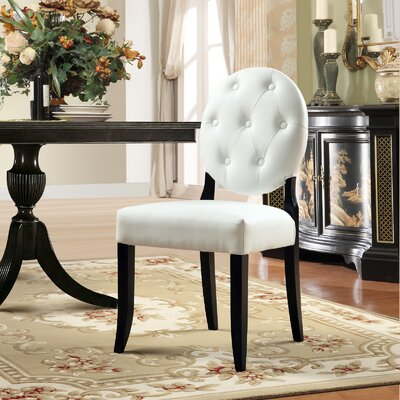 Button Side Chair (Set of 2)