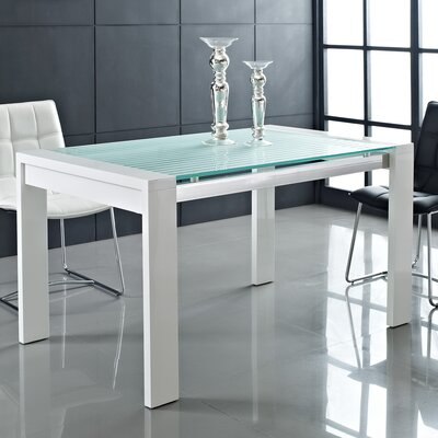 Modway Lakeshore Glass Dining Table