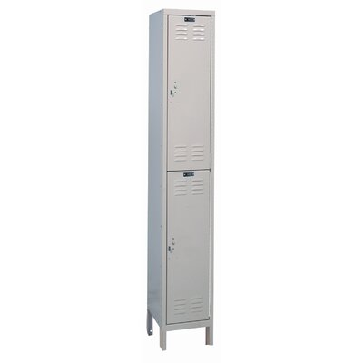 Hallowell ValueMax One Wide Double Tier Locker  (Unassembled)