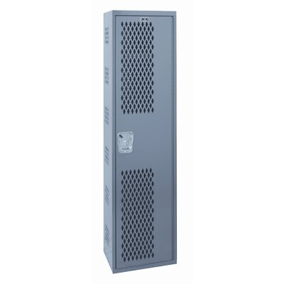 Hallowell Welded Single-Point Ventilated Locker Single Tier 1 Wide