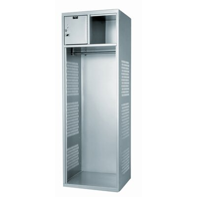 Hallowell Open Gear Locker 1 Wide (All Welded)