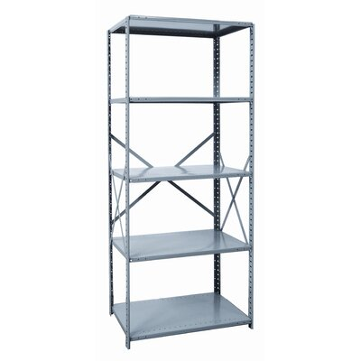 Hallowell Hi-Tech Shelving Heavy-Duty Open Type Starter Unit with 5 Shelves