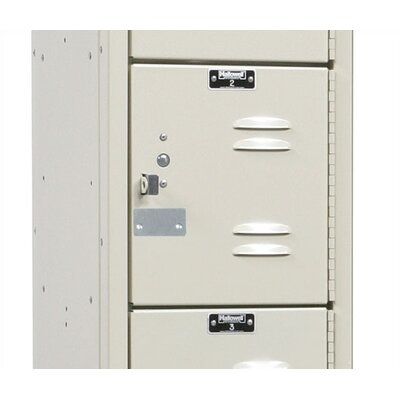 Hallowell Premium Stock Lockers - Five Tiers - 3 Sections (Assembled)