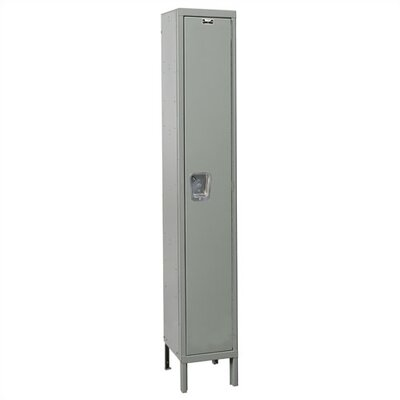Hallowell Maintenance-Free Quiet Stock Lockers - Single Tier - 1 Section (Unassembled)
