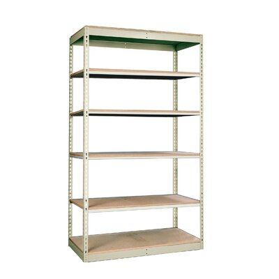 Hallowell Rivetwell Single Rivet Boltless Shelving 6 Levels Add-on