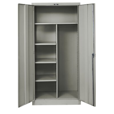 Hallowell 400 Series Stationary Solid Combination Cabinet