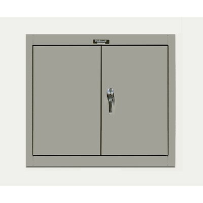 Hallowell 400 Series Wallmount Solid Knock-Down Storage Cabinet