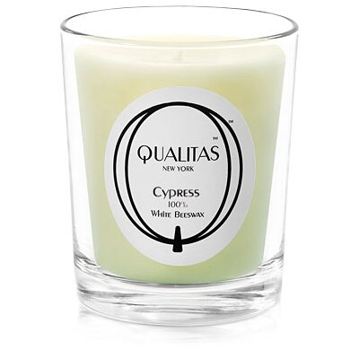 Qualitas Candles Beeswax Cypress Scented Candle