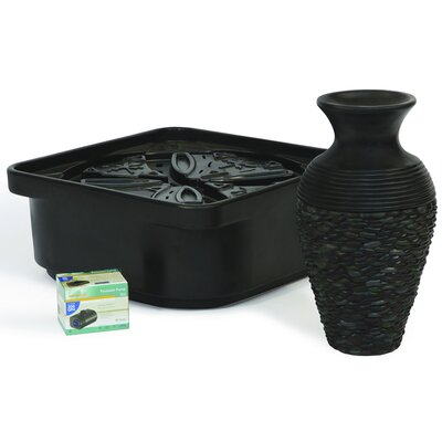 Atlantic Water Gardens 2.9 GPM Pebble Pot Fountain Kit