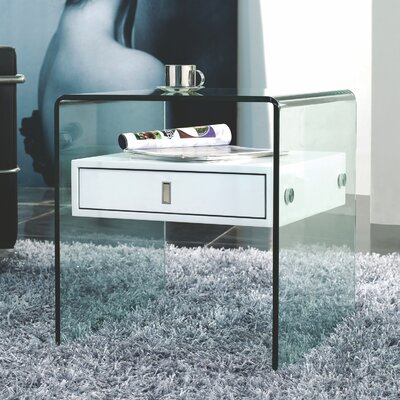Casabianca Furniture Bari Nightstand