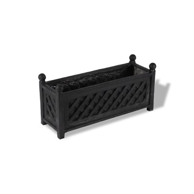 ResinStone Lattice Rectangular Planter