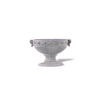 ResinStone Oval European Ribbon Urn