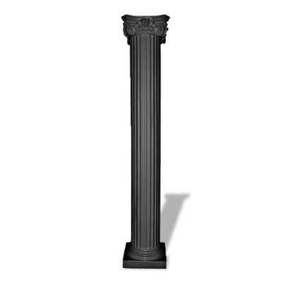 Fluted Greek Capital Column Pedestal