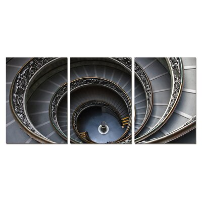 Spiral Stairway Modern Wall Art Decoration