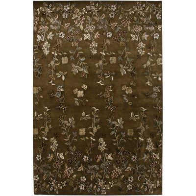 Capucine Design Brown, Hand-Tufted Rug
