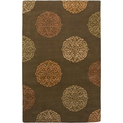 Mercer Design Brown, Hand-Tufted Rug