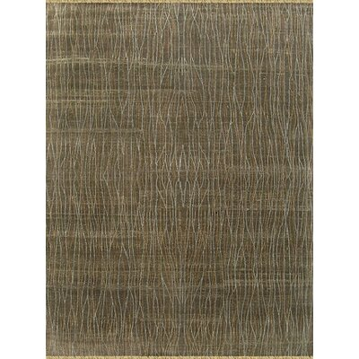 Kibashi Design Chocolate, Hand-Knotted Rug