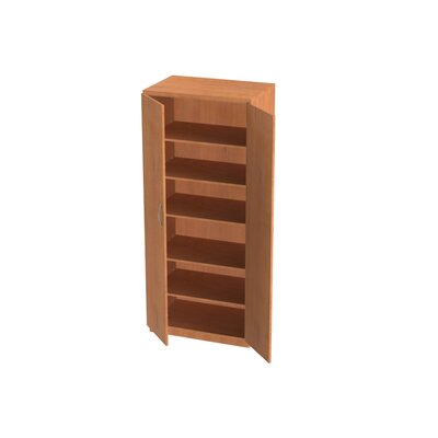 WB Manufacturing Repositionable Replay Three Adjustable Shelves Cabinet