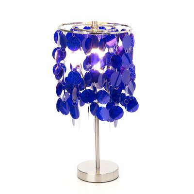 Three Cheers For Girls! Purple Paillete Lamps