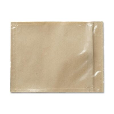 "3M Packing List Envelope, Non-Printed, 4-1/2""x6"", Orange"