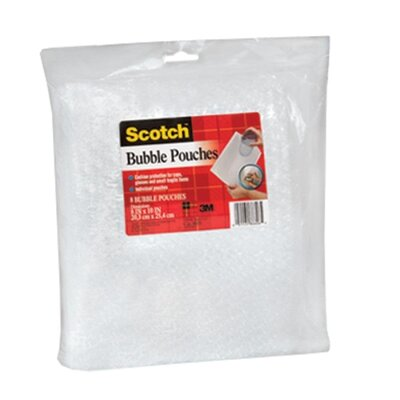 3M Bubble Pouches, 8 per Pack