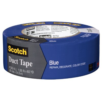 "3M 1.88"" x 60 Yards Scotch Duct Tape in Blue"