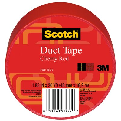 3M 20 Yards Red Duct Tape