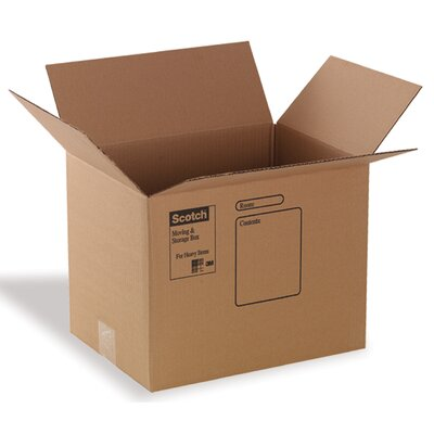 "3M 16"" x 12"" x 12"" Moving Box"