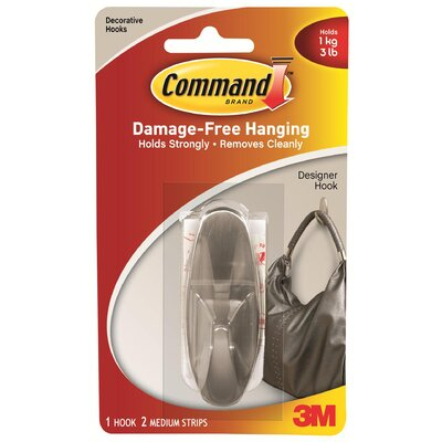 3M Command Medium Designer Hook