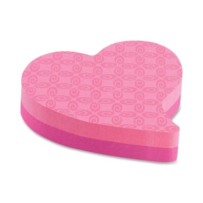 3M Post-it Heart-shaped Note Pad