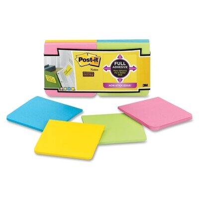 3M Post-it Full Adhesive Notes (12 Per Pack)