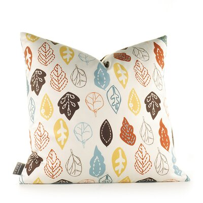 Inhabit Aequorea Rhythm Collage Pillow in Cornflower