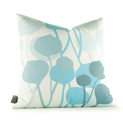 Inhabit Aequorea Seedling Graphic Pillow in Light Cornflower