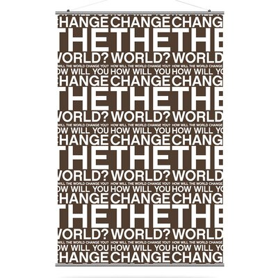 Inhabit Change the World Slat in Chocolate