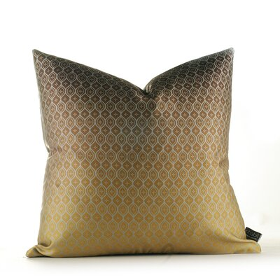 Inhabit Morning Glory Wildflower Pillow in Silver and Olive