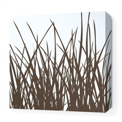 Inhabit Grass Stretched Wall Art