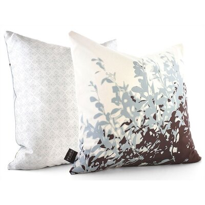 Inhabit Botanicals Foliage Suede Throw Pillow