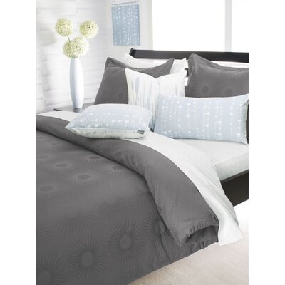 Inhabit Estrella Damask Woven Bedding Collection in Mineral
