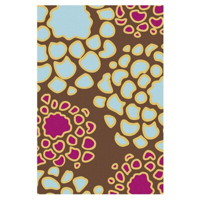 Inhabit Mum Plum/Cornflower Rug