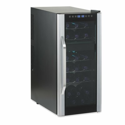 Silent 21 Bottle Dual Zone Touchscreen Wine Refrigerator