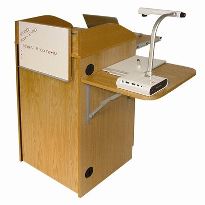 Woodware Furniture Counsel Media Lectern without Sound