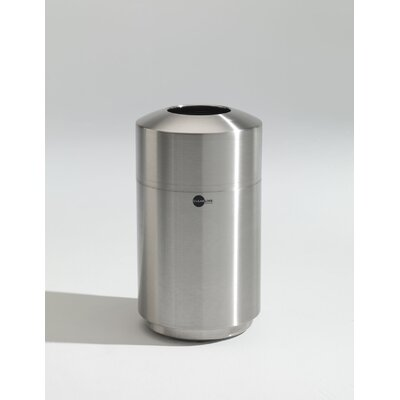 Toledo Metal Spinning Cleanline 20 Gallon Top Load Stainless Steel Waste Receptacle