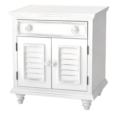 John Boyd Designs Outer Banks 1 Drawer Nightstand