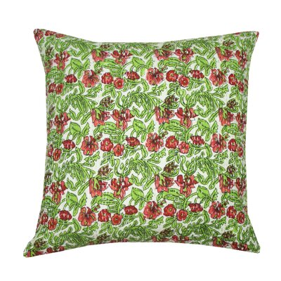 Katrina Kantha Cotton Pillow