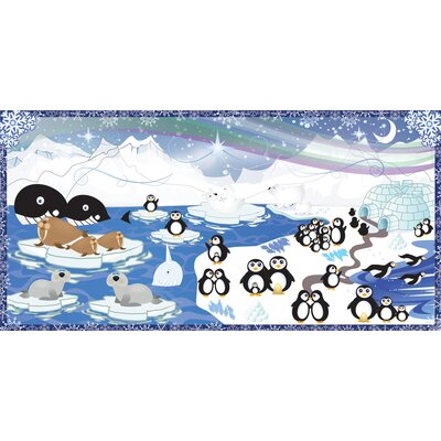 Mona Melisa Designs Penguin Wall Mural