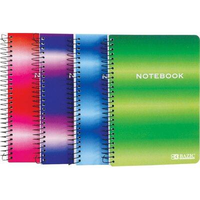 Bazic Personal / Assignment Spiral Notebook (Set of 36)