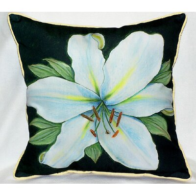 Betsy Drake Interiors Garden Casablanca Lily Indoor / Outdoor Pillow