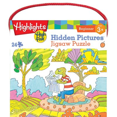 MasterPieces Highlights Hidden Pictures 24 Piece Jigsaw Puzzle