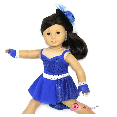 "Arianna Take Five Jazz Doll Outfit for 18"" American Girl Doll"