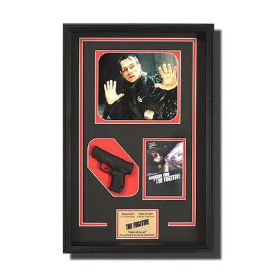 Framed 'Fugitive' Memorbilia Artwork